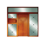 Τα Υλικά Οικολογικό MDF με επένδυση φυσικού ή τεχνιτού καπλαμά ή Polymerico,PVC. Οικολογικό MDF αδιάβροχο για εξωτερικές συνθήκες μόνο με συνεργασία χρωμάτων RAL. Πλακάζ από Μασίφ ξύλο. Μασίφ ξύλο για την κατασκευή των μασίφ και ημιμασίφ χειροποίητων κλασικών σχεδίων. Κόντρα πλακέ θαλάσσης σκέτο ή με σχέδια παντογράφου πάχους 8-12-18 mm και οικολογικές βαφές εμποτισμού. Panel από αλουμίνιο σε απομίμηση ξύλου ή βαφής RAL. Aνοξείδωτος χάλυβας.Ηλεκτρογαλβανισμένος χάλυβας με πολυμερισμένες βαφές πούδρας. Μια πόρτα ασφαλείας μπορεί να προσφέρει μια ξεχωριστή αισθητική σε άπειρες παραλλαγές που προσαρμόζεται και στο πιο απαιτητικό γούστο. αυτό οφείλεται στις καλλιτεχνικές επενδύσεις που επενδύουν το ατσάλινο τμήμα (την θωράκιση) και οι οποίες έχουν την εμφάνιση που ο καθένας απο εμάς επιθυμεί να έχει η κάθε πόρτα του.